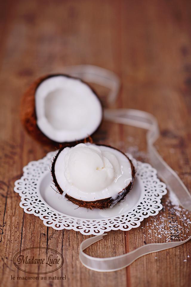 Inghetata cocos Madame Lucie