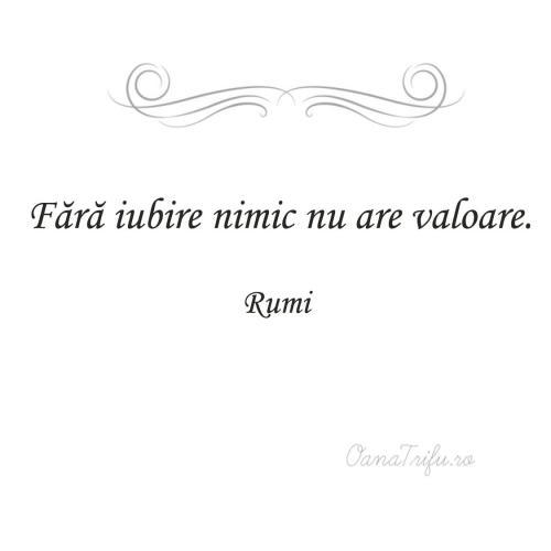 Citate Rumi